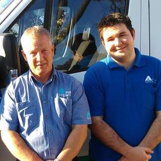 Paul & Todd - Alpine Carpet & Tile Cleaning van