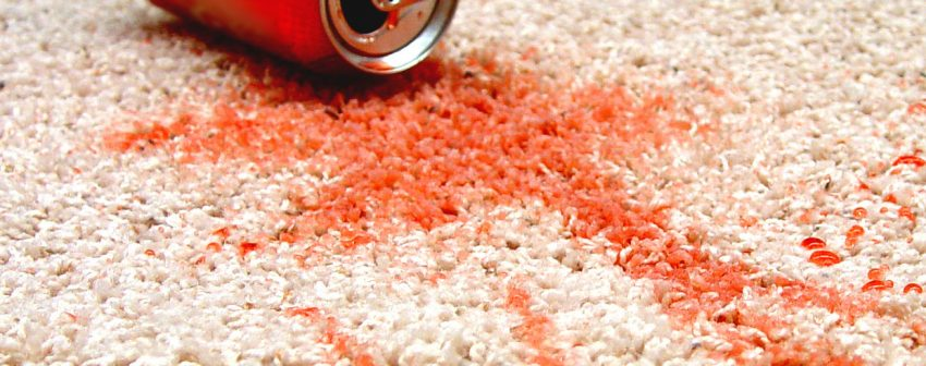 How To Remove Soft Drinks Stains Off Your Carpet
