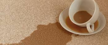 How to remove a tea stain from carpets