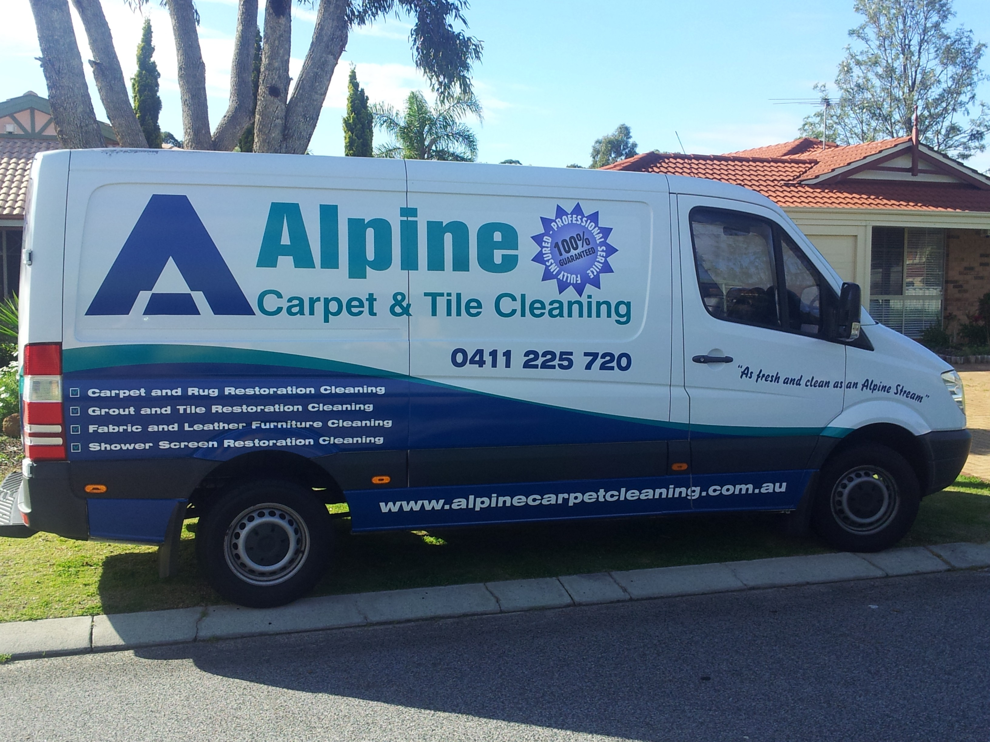 Alpine Carpet Cleaning Truck Joondalup Wanneroo