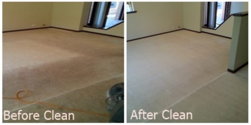 how to clean small carpet