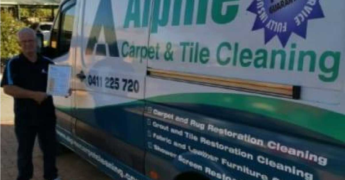 Alpine Carpet Cleaning Partners With Pch News