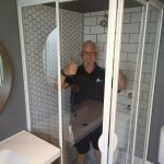 calcium free shower screen panels
