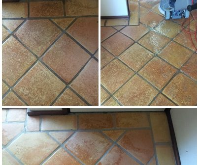 terracotta tile cleaning